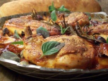Pollo alla cacciatora - Rezept