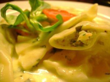 Pasta: Garnelen Ravioli - Rezept