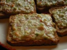 Crème fraiche - Toast - Rezept
