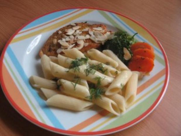 Penne mit Hähnchenbrust und Gemüse - Rezept