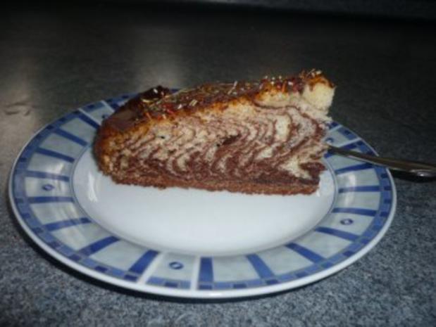 Zebrakuchen Super Einfach Und Sieht Einfach Super Aus Marmorkuchen