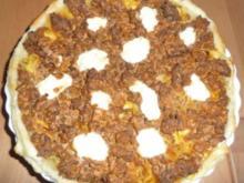 Bolognese - Nudel - Quiche - Rezept