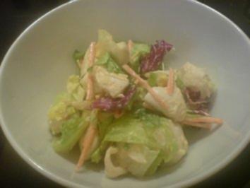 Dressing für Chicken Caesar Salad - Rezept