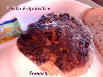 5 Kilo Frikadellen - Rezept