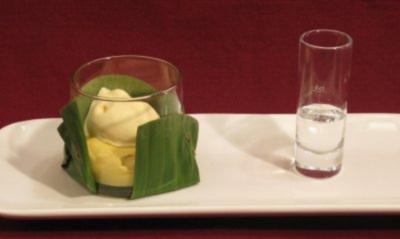 Mango Arabica mit Passionsfruchteis - Rezept