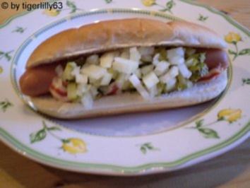 American Hot Dog - Rezept