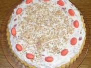 Torte - Erdbeer-Mascarpone-Torte mit Pistazien - Rezept
