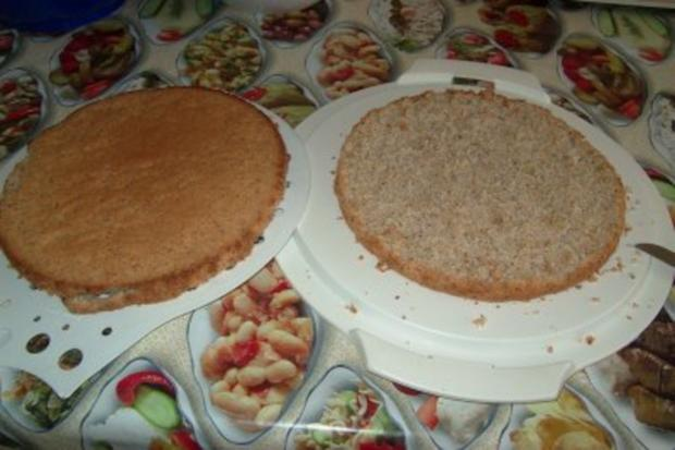 Nuss-Sahne-Torte - Rezept - Bild Nr. 3