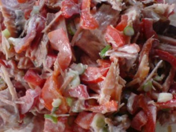 Hackfleisch-Soße schmeckt lecker zu Spaghetti - Rezept - Bild Nr. 3
