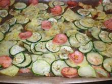 Ofen- Gemüse mit Fleischwurst - Rezept