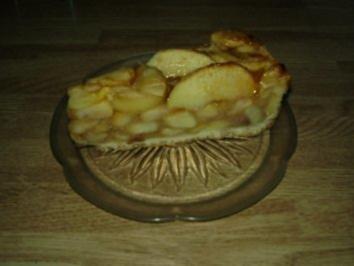 Apfelkompott-Torte - Rezept