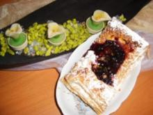 Blätterteig-Beeren -Gebäck - Rezept