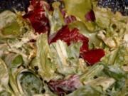 Weiße GLYX-Salatsauce - Rezept