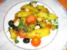 Kräuter-Kartoffelpfanne - Rezept