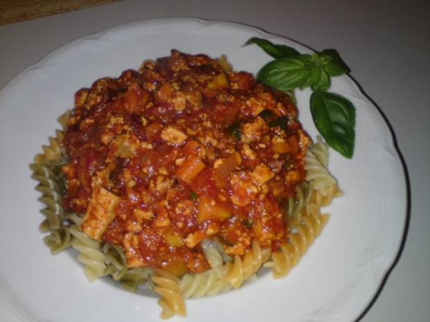 Bolognese vegetarisch - Rezept