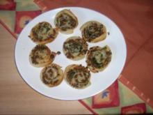 Hackfleisch - Snack - Rezept