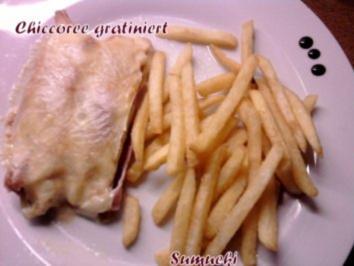 Chiccoree gratiniert - Rezept