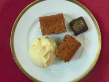 Warme Dattelkuchen mit Vanilleeis - Rezept - Bild Nr. 2