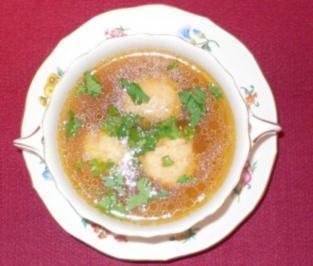 Rindfleischsuppe mit Markklößchen - Rezept - Bild Nr. 2