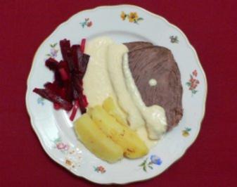 Rinderbrust mit Meerrettichsoße und Salzkartoffeln - Rezept - Bild Nr. 2