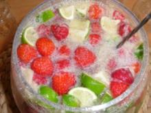 Erdbeer - Limetten - Bowle - Rezept