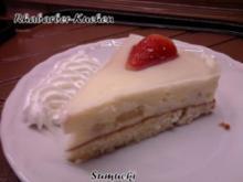 Rhabarber-Kuchen mit Pudding - Rezept