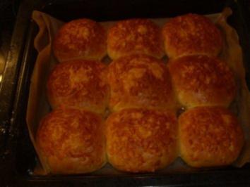 Brote: Käsebrötchen - Rezept