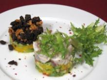 Ceviche mit Mango-Avocado-Tatar - Rezept