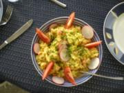 Reissalat mit Curry - Rezept