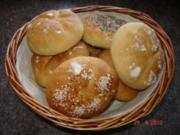 Brot + Brötchen : Semmeln - Rezept