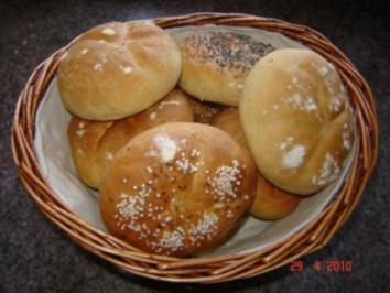 Rezept: Brot + Brötchen : Semmeln