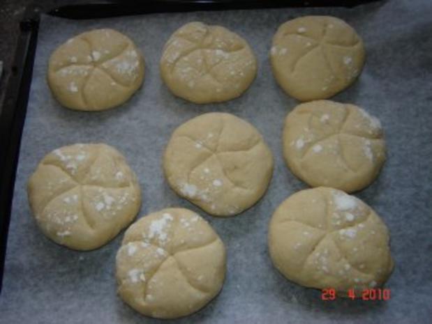 Brot + Brötchen : Semmeln - Rezept - Bild Nr. 5