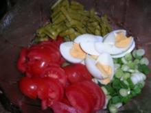 Kartoffel-Spargelsalat schön erfrischend zu so vielem (Fisch,Fleisch und und und) - Rezept