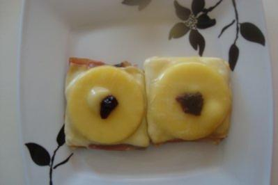 "Rezept: Toastgerichte: ""Spanischer"" Hawaii-Toast"