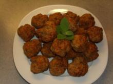 Fleischgerichte: Bulettchen aus dem Ofen - Rezept