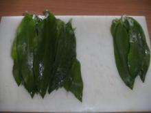 Suppe: Bärlauchsuppe mit Spargelbrühe - Rezept