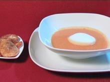 Tomaten-Ingwer-Cappuccino mit Chips (Peter Angerer) - Rezept