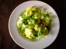 Kartoffel-Endiviensalat - Rezept