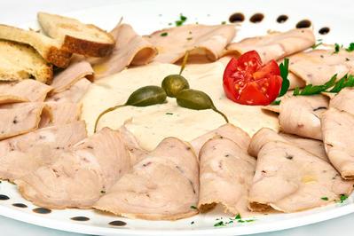 Vitello Tonnato - Kalbfleisch an Thunfischsauce - Rezept - Bild Nr. 2