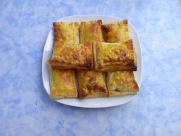 Apfel - Mandel - Taschen - Rezept
