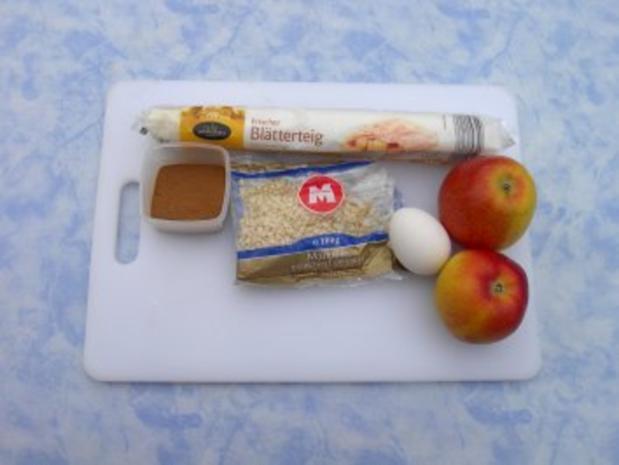 Apfel - Mandel - Taschen - Rezept - Bild Nr. 3