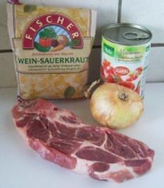 Kochen: Szegediner Gulasch / Sauerkraut-Gulasch - Rezept