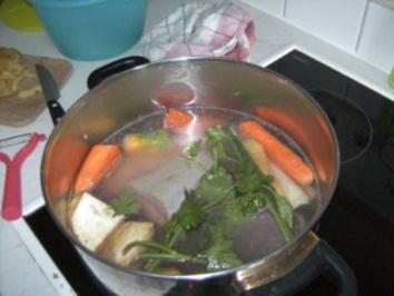 Rindfleisch mit Semmelkren und Erdäfpfelschmarrn - Rezept