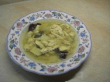 Suppen - Hühnersuppe nach Thai-Art - Rezept