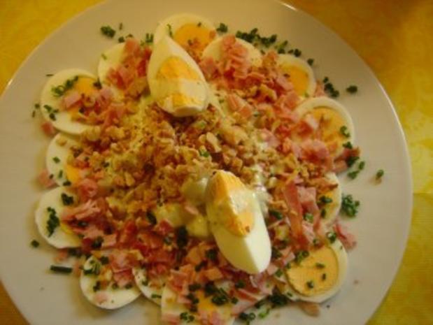 Spargel-Eier-Salat mit Kiwidressing - Rezept - Bild Nr. 3