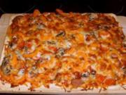 Teig für Pizza oder Gemüsekuchen - Rezept