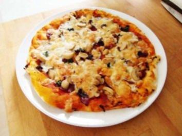 "Pizza ""Sylvia Speziale"" - Rezept"