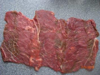 Rinderrouladen als Rollbraten - Rezept