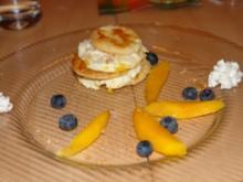 Mango Türmchen - Rezept