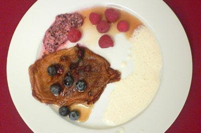 Lieblings-Blaubeer-Pfannkuchen von Elvis mit Dreierlei dabei - Rezept - Bild Nr. 9